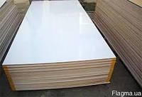 Ламинированная фанера белая, повышенной влагостойкости (ФСФ)  12,0х1250х2500мм купить порезать  цена доставка