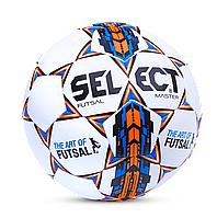 М'яч для футзалу Select Futsal Master Grain IMS Approved 104343-W розмір 4
