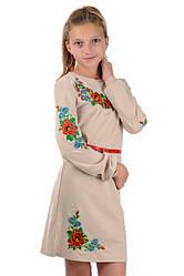 Платья- вышиванки для девочек