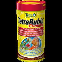 Корм Tetra Rubin Granules для рыб в гранулах, улучшение окраса, 250 мл