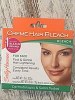 Крем для осветления волос на лице Sally Hansen Creme Hair Bleach
