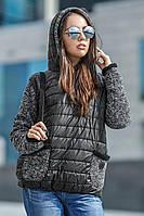 Куртка женская демисезонная Панна, демисезонная женская куртка, короткая куртка осень, весна, дропшиппинг