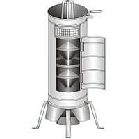 Аппарат для смешивания образцов зерна БІС – 1У оцинкованый