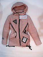 Куртка парка демисезонная на девочек, фото 1