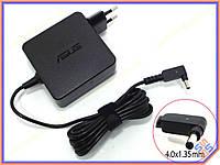 Блок питания для ноутбука ASUS 19V 3.42A 65W (4.0*1.35) ORIGINAL Zenbook (Квадратный с вилкой ). Зарядное Устройство для ноутбуков ASUS серии ZenBook