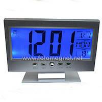 Часы  электронные VST 8082 (часы  настольные) Серебристый металик, Серебристый металик
