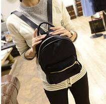 Милый бархатный рюкзак для модных девушек, фото 3