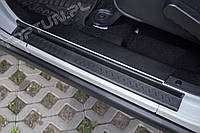 Накладки на пороги внутренние Jeep Wrangler JK