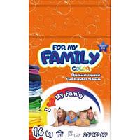Стиральный порошок для цветного белья 1,6 кг (21 стирка) For my Family HIM-080434