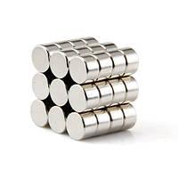 Магнит неодимовый шайба диск цилиндр NdFeB 8x5mm