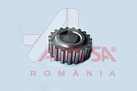 Шестерня коленвала привода ГРМ Logan/MCV/Sandero/Duster 1.4/.1.6 ASAM 32673