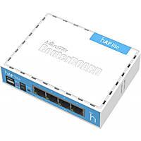 Точка доступа Mikrotik hAP Lite RB941-2nD (4x10/100 Ethernet ports, 1,5 dBi)