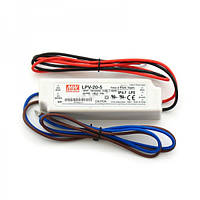 Блок питания 20W 5V IP67 Mean Well