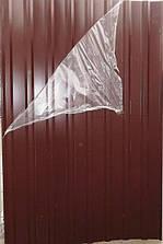 Лист гофрированный 10-ти волновой 2000х950 мм коричневый /пленка