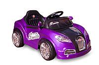 Детский автомобиль KABRIOLET + пульт (фиолетовый)