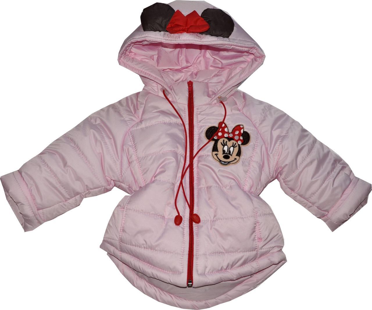 Куртка Мики детская зимняя для девочки - фото 1