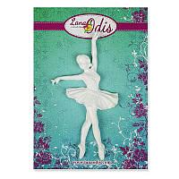 Декоративная фигурка из модельного пластика от ТМ LanaOdis - Балерина 2, 42х78 мм, 1 шт