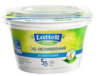 Творог 5% без лактозы и глютена Latter 150г Украина