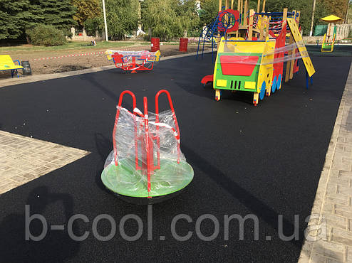 Бесшовное резиновое покрытие Teking Kids Black, фото 2