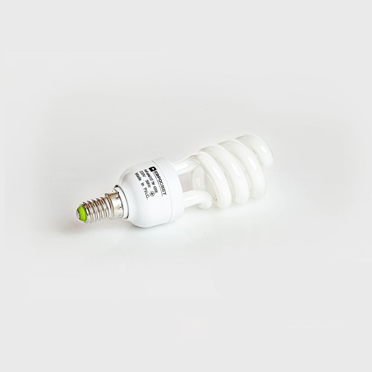 Лампа энергосберегающая 7W E27 4200K FS-7-4200-27