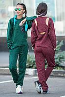 Спортивный костюм Мартина норма (2 цв), трикотажный спортивный костюм, женская спортивная одежда,