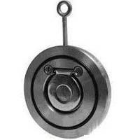 Клапан  обратный межфланцевый однодисковый Ду250