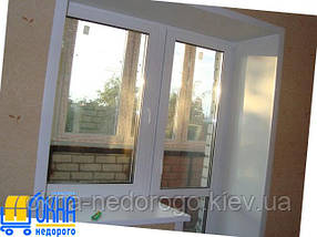 Откосы из гипсокартона на балконный блок, фото 2
