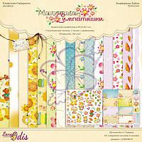 Набор бумаги для скрапбукинга от TM Lana Odis - Милашки-Симпатяшки, 29,5x29,5 см, 190 г/м2, 9 листов