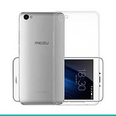 Чехол-накладка TOTO TPU case clear Meizu U10 Transparent