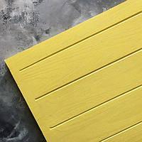 """Фотофон двусторонний от Grandpa""""s Workshop - Солнечно-желтые гладкие доски, минимальный размер 30x30 см, 1 шт"""