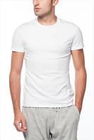 Белая футболка круглый ворот Ceylanoglu 042-1