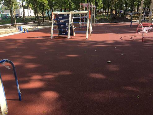 Резиновое покрытие Teking Kids Color для детских площадок, фото 2