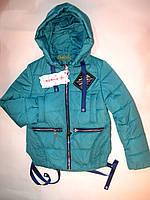 Стильная демисезонная куртка на девочку 128-152 рост, фото 1