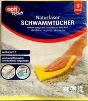 Универсальные прорезиненные салфетки для уборки во всем доме Opti Wisch 5 шт