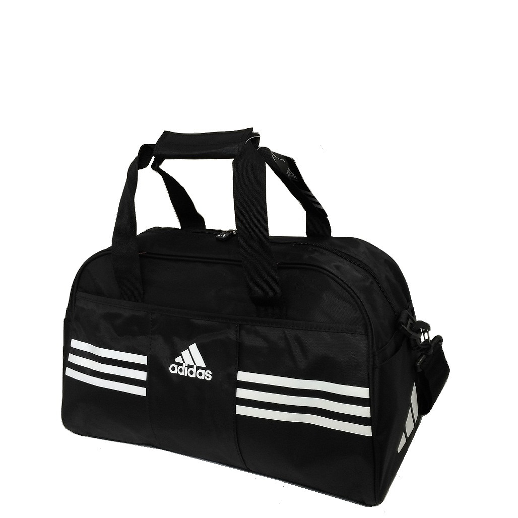 ac5ef3c7c3fe Сумка спортивная Adidas реплика GS1301 средняя черная - купить по ...