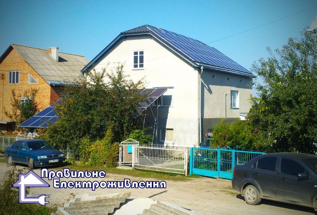 Мережева сонячна електростанція 20 кВт у м. Козова
