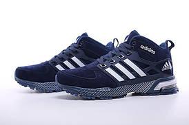 Зимние кроссовки с мехом Adidas Neo Winter Blue