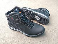 Мужские зимние спортивные ботинки Ferum из натуральной кожи и меха