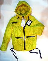 Куртка демисезонная на девочек 128-152