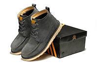 Зимние ботинки с мехом Adidas Ransom Original Boot Grey
