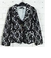 Пиджак подростковый кружевной D-Zine Jeans (164-170) , фото 1