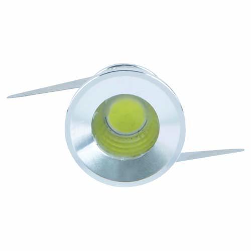 LED светильник встр. SMD FERON G771 3W алюминий круг 6500K