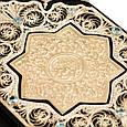 Коран с филигранью, литьем, гидротермальными изумрудами, фото 3