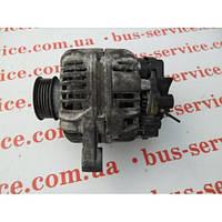 Генератор б/у для Fiat Doblo 1.6 бензин/инжектор. Bosch, Magneti Marelli на Фиат Добло.