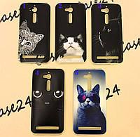 TPU чехол Print для Asus ZenFone Go (ZB500KL) коты