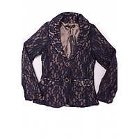 Пиджак кружевной для девочки (128-134) D-Zine Jeans, фото 1