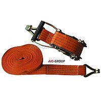 Стяжной ремень 10м х 50мм, 3т с храповым механизмом ST-212