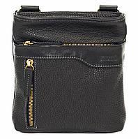 Мужская кожаная сумка планшет Mk13 черная