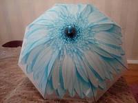 Зонтик детский Цветок 100 см, голубой