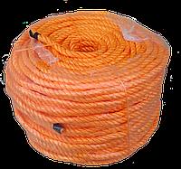 Канат кручений поліпропіленовий 10,0мм*100м
